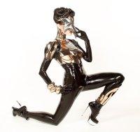 """alt=""""lady gaga futuristic Corset"""""""