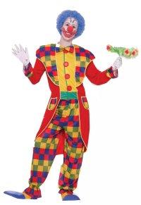 Clown Men's Tuxedo Costume