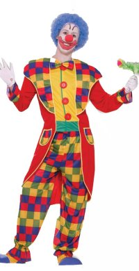 Clown Men's Tuxedo Costume