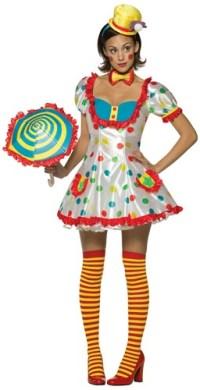"alt=""sexy womens clown costume"
