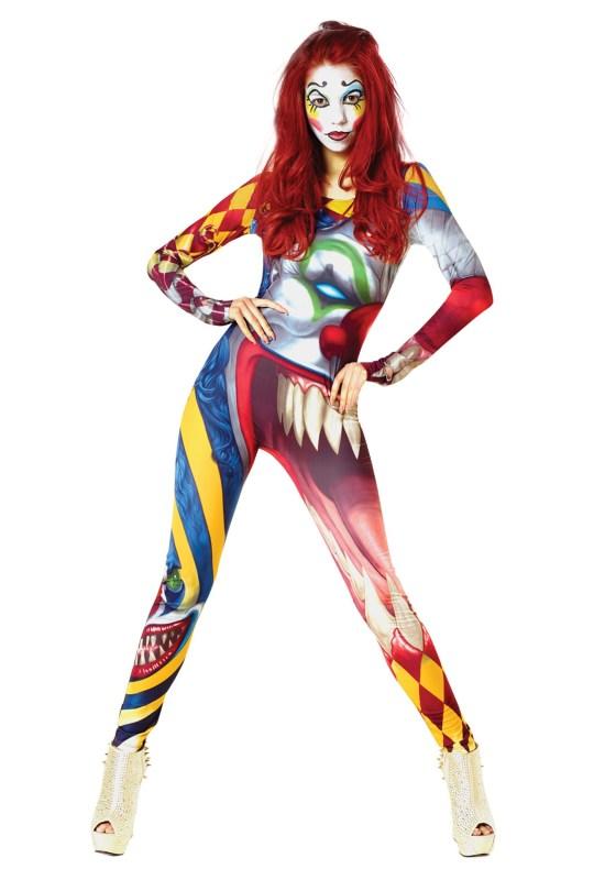 "alt=""the clown womens morphsuit"""