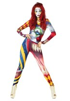 "alt=""the clown womens morphsuit"""