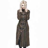 "Alt=""punk rave gothic women's coat"""
