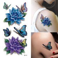 "alt=""sexy flower rose tattoo stickers"""