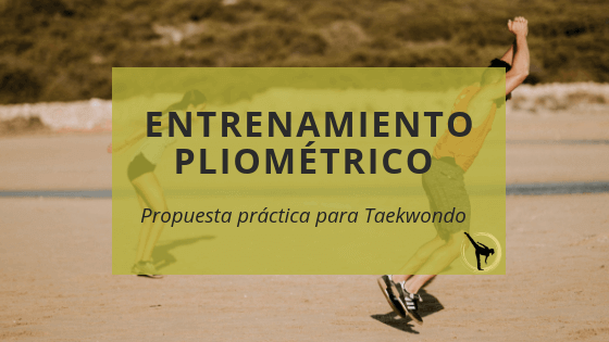 pliometría taekwondo