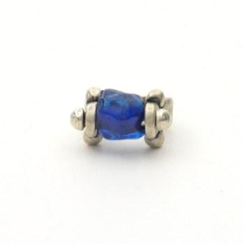 Anillo hierro azul