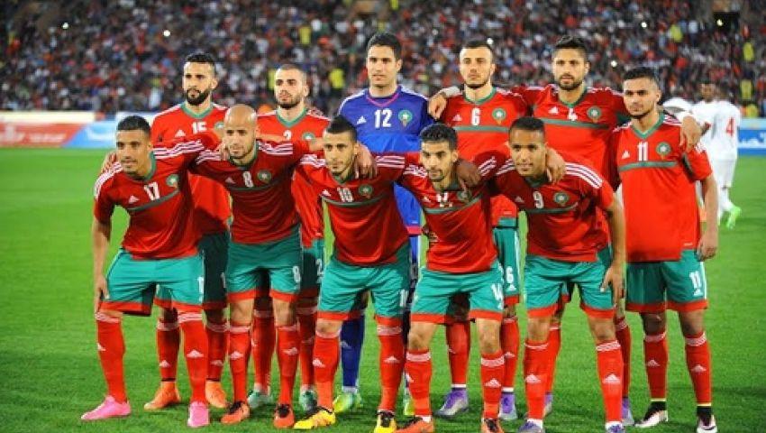 بالفيديو منتخب المغرب يصل إلى بور جانتيه لمواجهة منتخب مصر