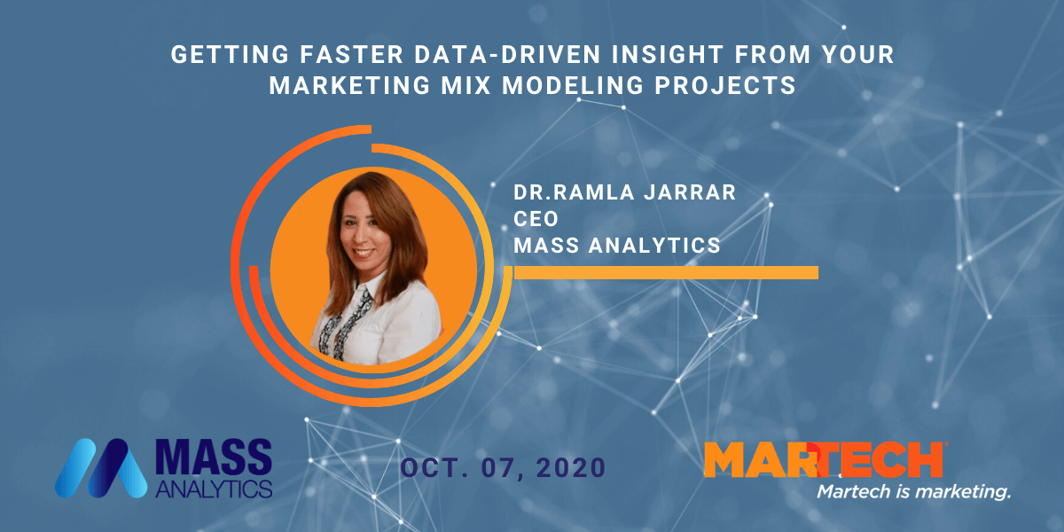 Getting Faster Data-Driven Insight from your Marketing Mix Modeling Projects