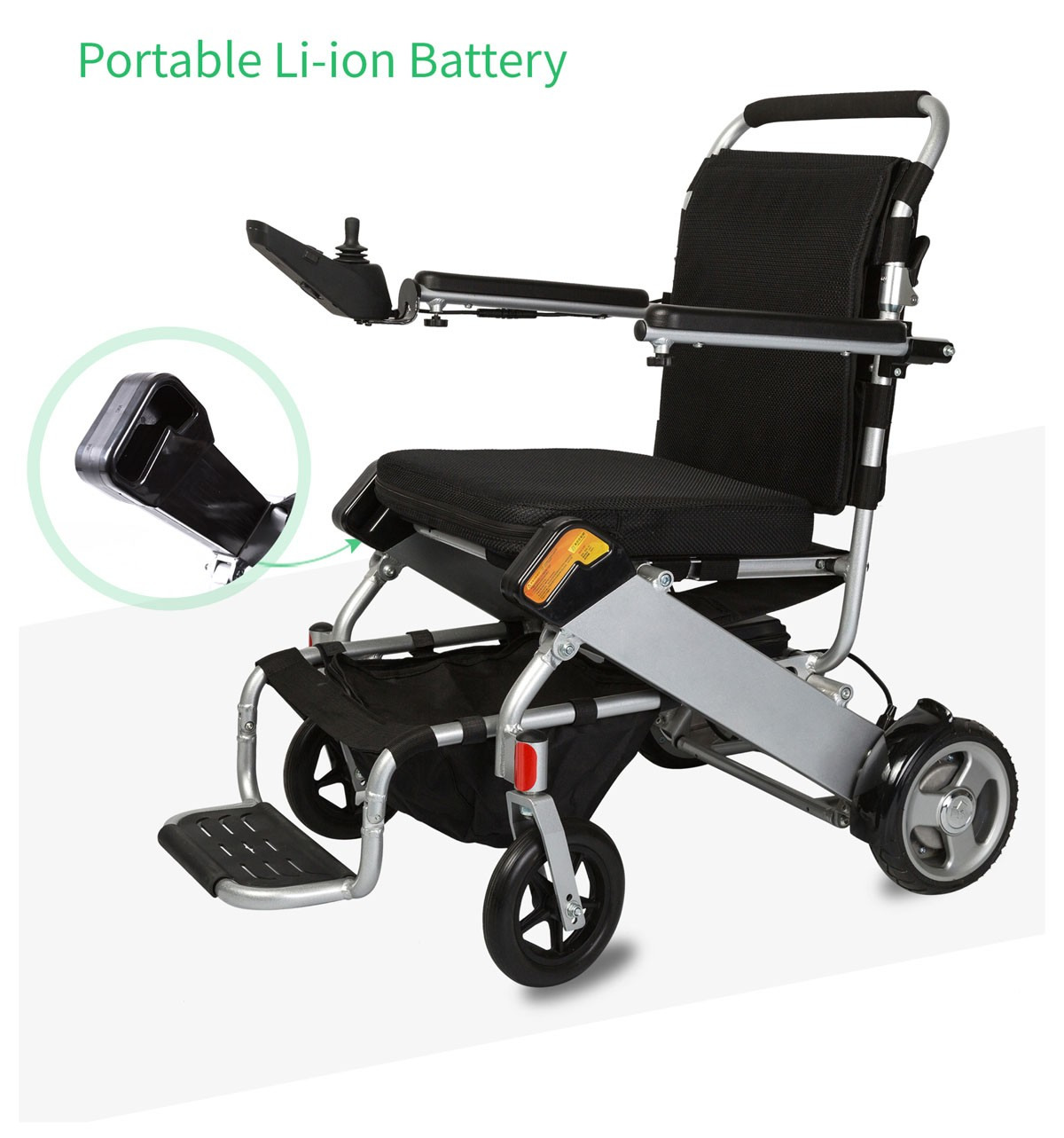 Power Chair Rental Karman Tranzit Go Foldable Lightweight Power Wheelchair
