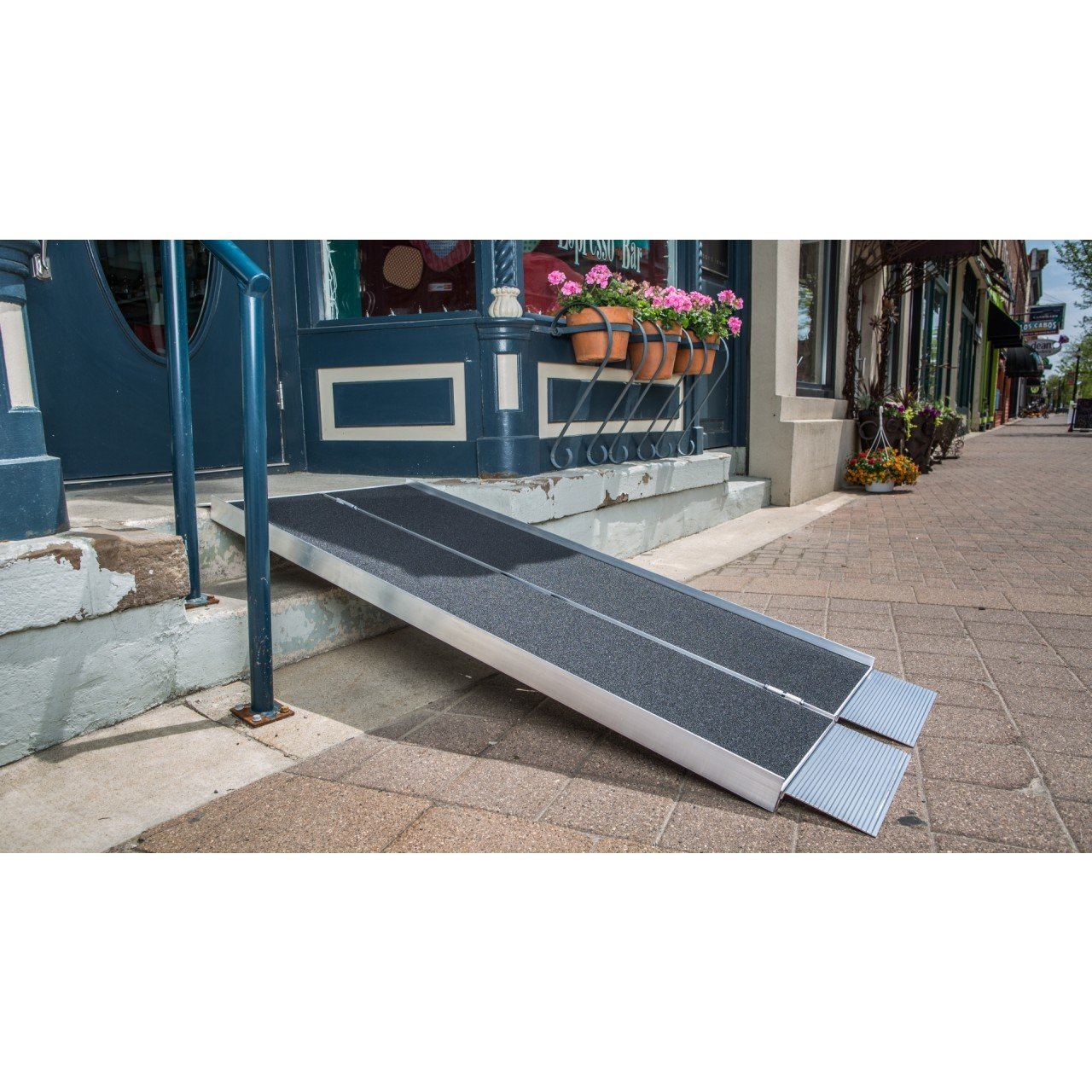 Wheel Chair Rentals 5 6ft Singlefold Wheelchair Ramp Rental In Los Angeles