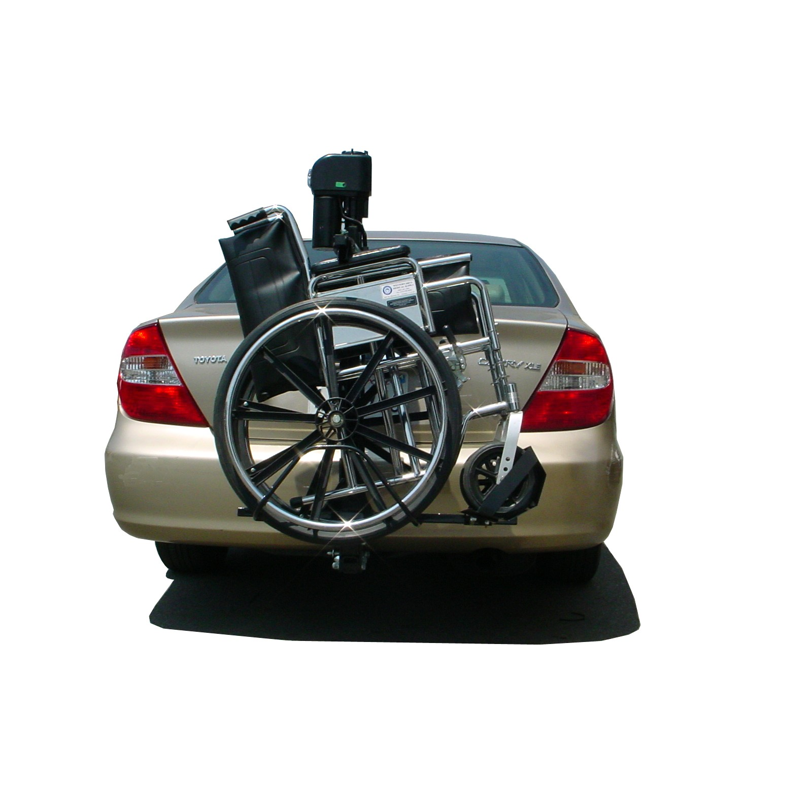 vehicle lifts for power wheelchairs chair stand test seniors trilift mobility scooter and wheelchair carrier