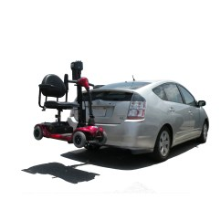 Vehicle Lifts For Power Wheelchairs Bamboo Dining Chairs Trilift Mobility Chair Scooter And Wheelchair Carrier