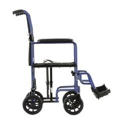 Transport Wheelchair Nova Crosley Griffith Metal Chair 17 Steel Lightweight