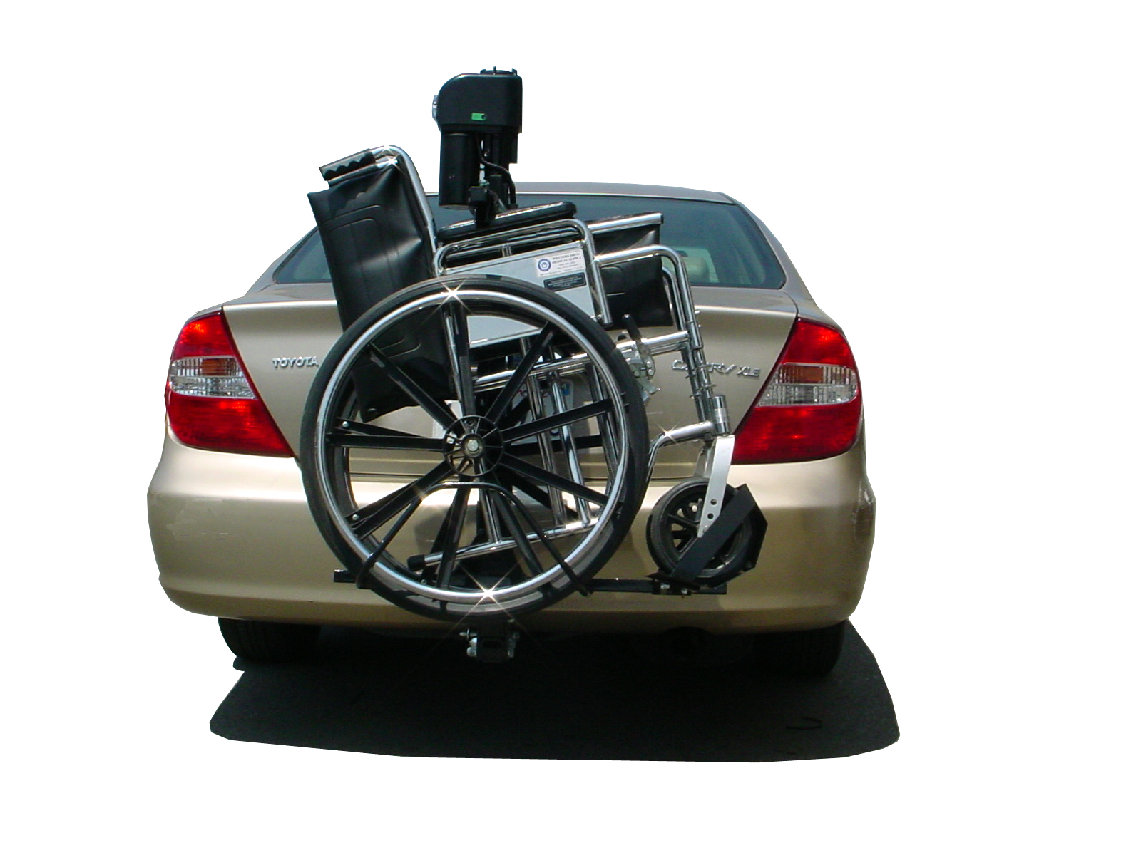 power chair car carrier design course trilift mobility scooter and wheelchair