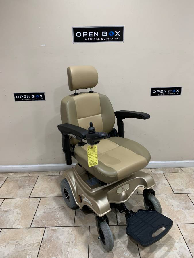 liberty 312 power chair sturdy camping used wheelchair in great condition la rear wheel