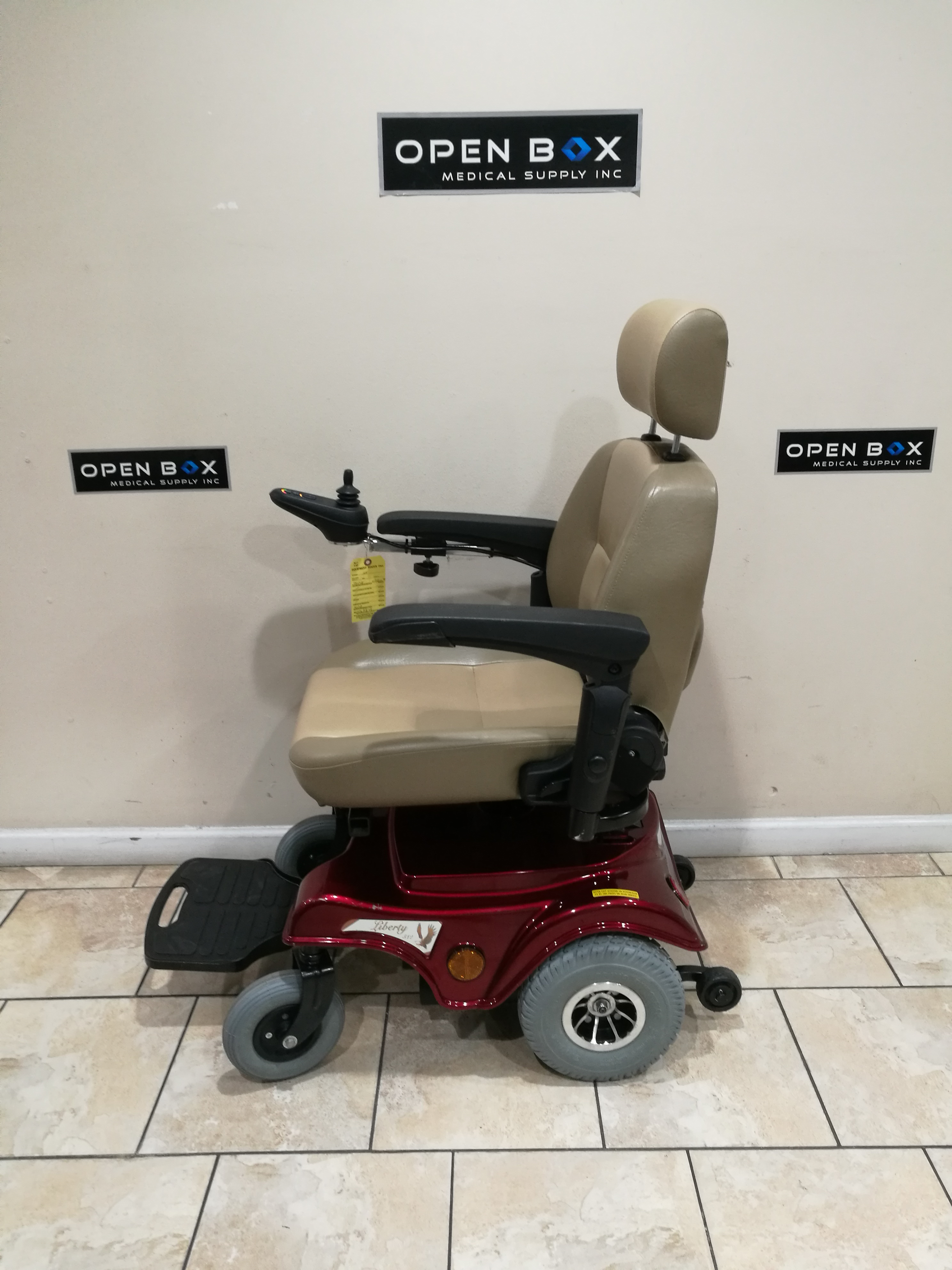 liberty 312 power chair battery hello kitty desk electric wheelchair www sham store used in la rh openboxmedical com