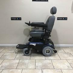 Liberty 312 Power Chair Full Motion Flight Simulator Rear Wheel Wheelchair