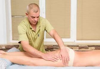 ручной лимфодренажный массаж фото