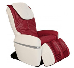 Osaki OS-2000 Combo Zero Gravity Massage Chair Cream and Red