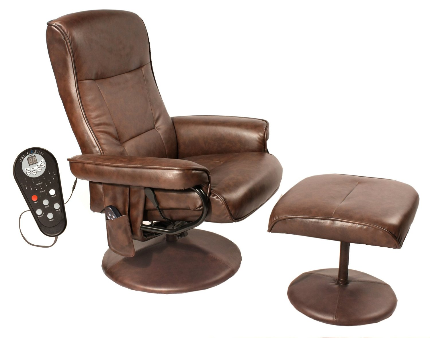 Message Chairs Relaxzen Lounge Chair 60 425111 Review Massage Chair Hq