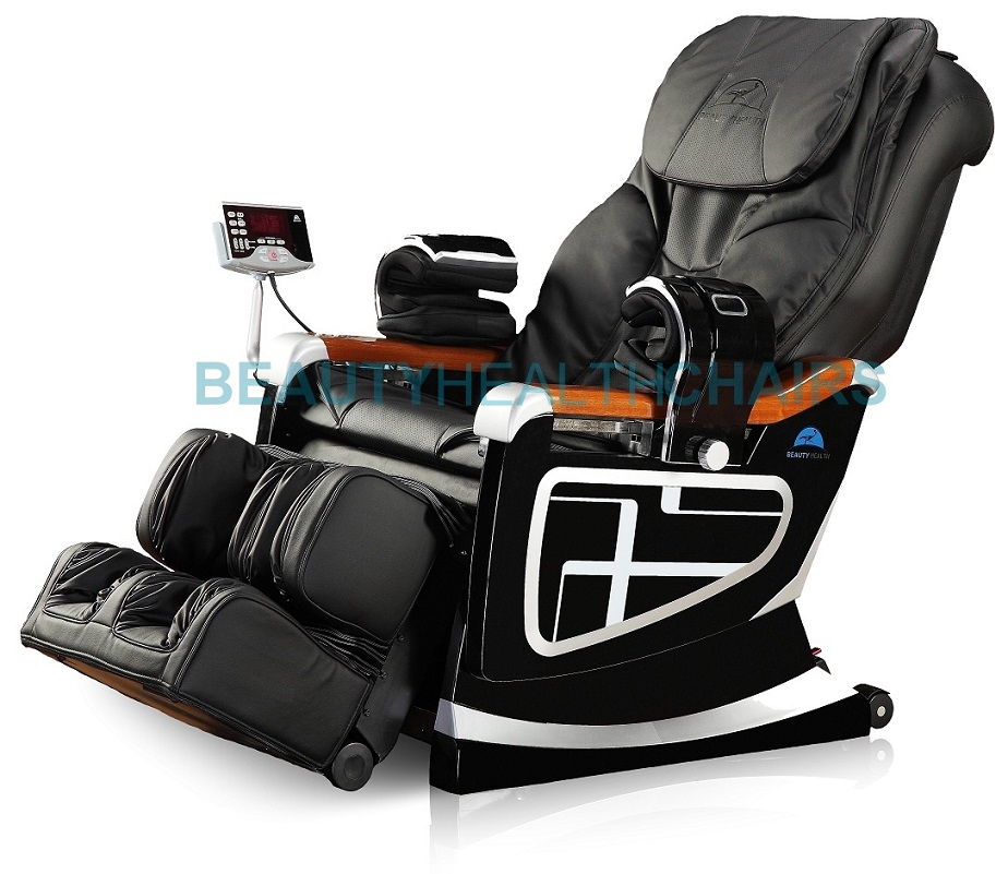 beautyhealth massage chair new table and chairs bc-11d recliner shiatsu 92 airbags built-in heat | ebay