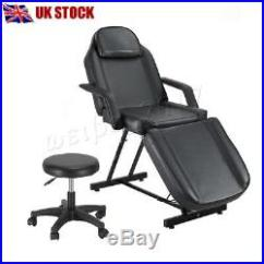 Tattooing Chairs For Sale Folding Quad Chair With Footrest Reclining Beauty Salon Massage Table Treatment Tattoo Couch Bed Stool