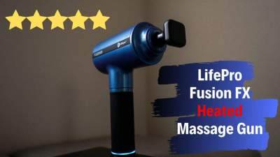 lifepro fusion fx heated massage gun