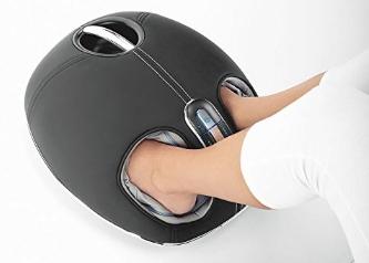 Brookstone 839379 Shiatsu Foot Massager with Heat