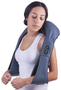 Cordless Rechargeable Neck & Back Shiatsu Massager