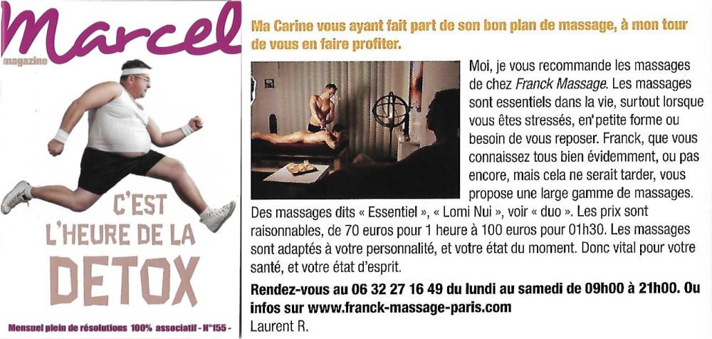 Marcel Mag Reportage Franck