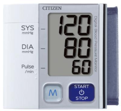 Máy đo huyết áp cổ tay Citizen 657