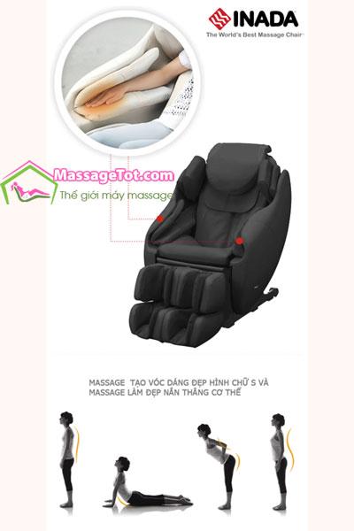 Ghế massage S333D đa chức năng