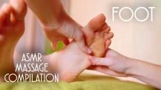 ASMR FOOT MASSAGE COMPILATION