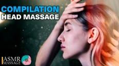 ASMR HEAD MASSAGE NO TALKING | COMPILATION