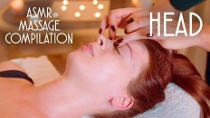ASMR HEAD RELAXING MASSAGE | COMPILATION | BEST MOMENTS