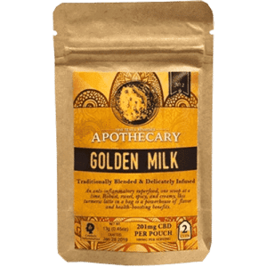 Golden Milk Turmeric CBD Latte 201mg | The Brothers Apothecary