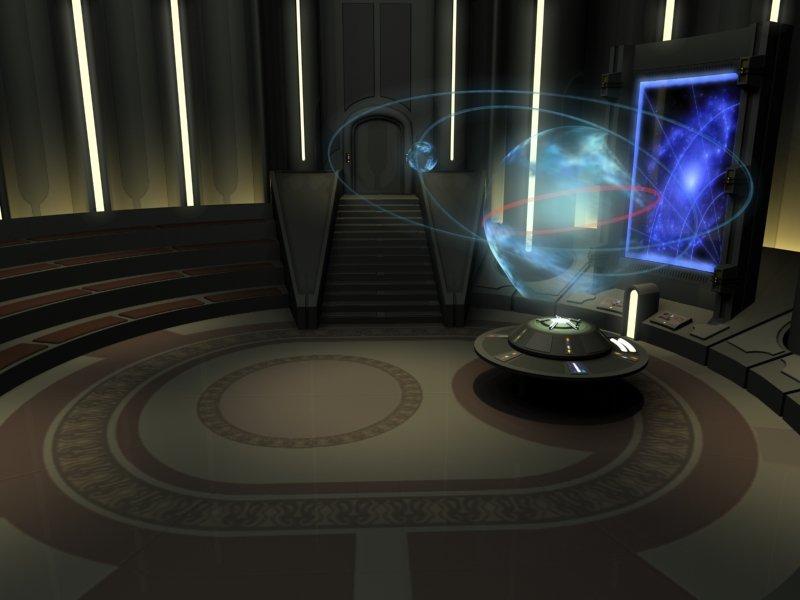 Wallpaper 1600x1200 3d Episode Iii Jedi Temple Control Board Room
