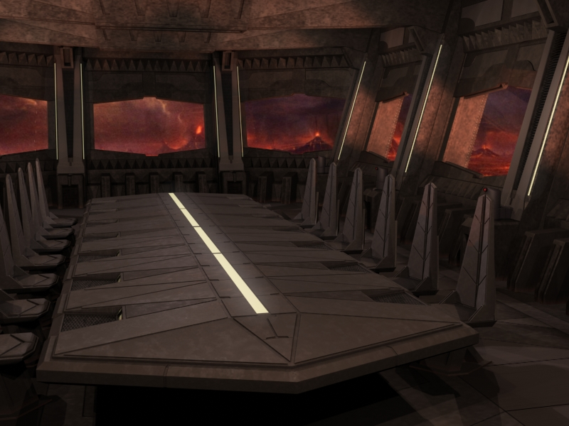 EPISODE III MUSTAFAR MAIN CONTROL CENTER