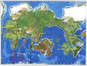 Lemuria and Atlantis - antediluvian_map