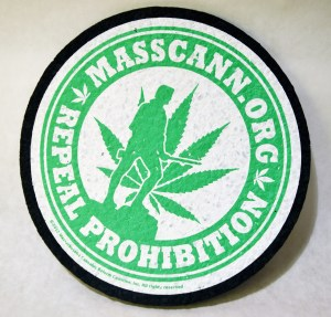 Dab Mat with MassCann logo repeal prohibition