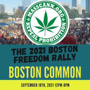 The 2021 Boston Freedom Rally is on!
