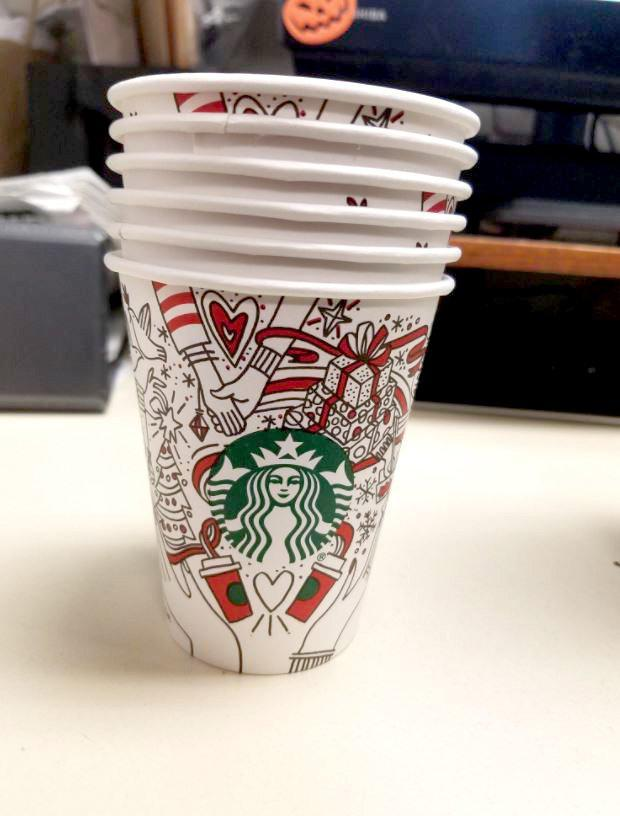 The 2017 cup has left some Starbucks fans a little disappointed