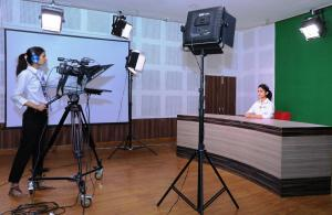 Television Studio with PCR