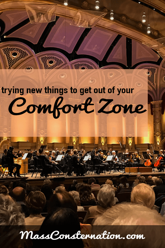 How I'm getting myself out of my comfort zone.