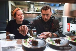 France. Refugee Food Festival launches in Lyon with Syrian menu
