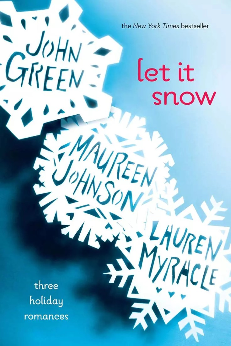 A book review of Let It Snow by Maureen Johnson, John Green and Lauren Myracle. A delightful Christmas romance in three parts.
