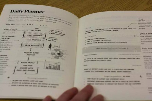 How to use the daily planner - Best Self Journal Unboxing