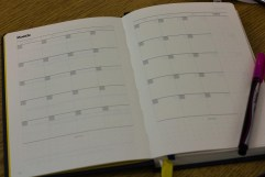 The monthly planner spread - Best Self Journal Unboxing