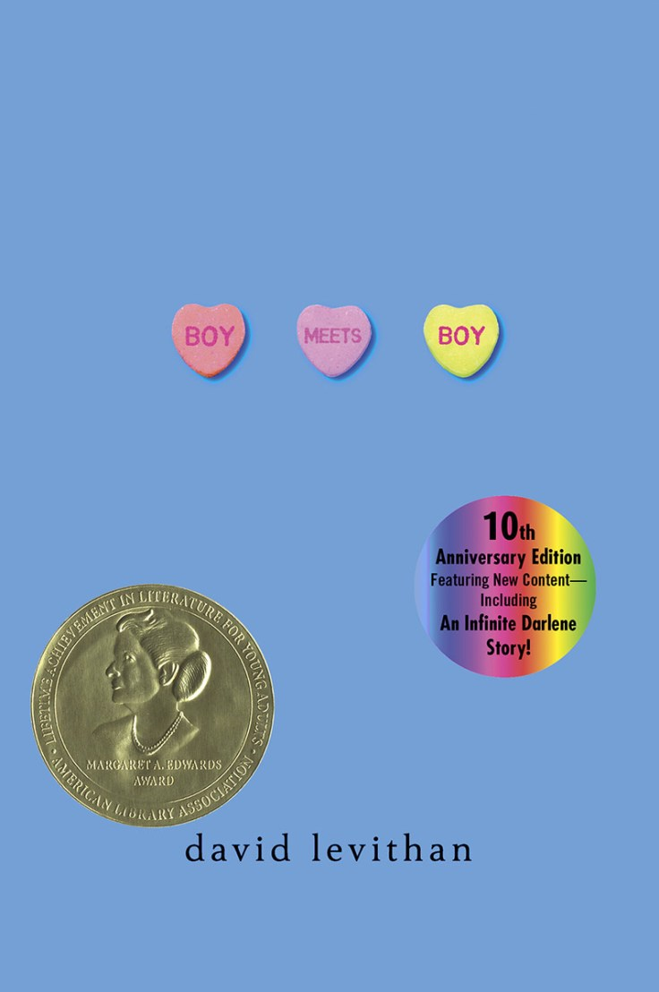 Boy Meets Boy is David Levithan's darling YA love story between Paul and Noah. It's adorable and sweet with beautiful language.