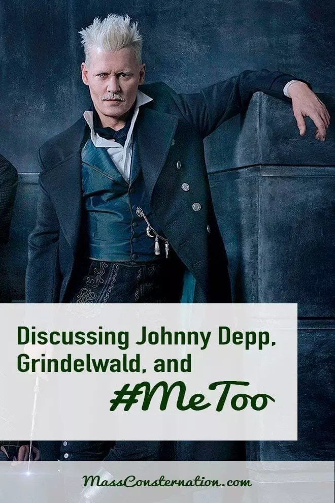 Did you hear? JK Rowling is enabling an abuser! The #MeToo movement is stopping systematic abuse but should Johnny Depp play an evil wizard?